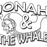 Jonah And The Whale Coloring Pages Clipart