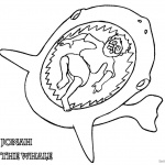 Jonah Swallowed by The Whale Coloring Pages Jonah