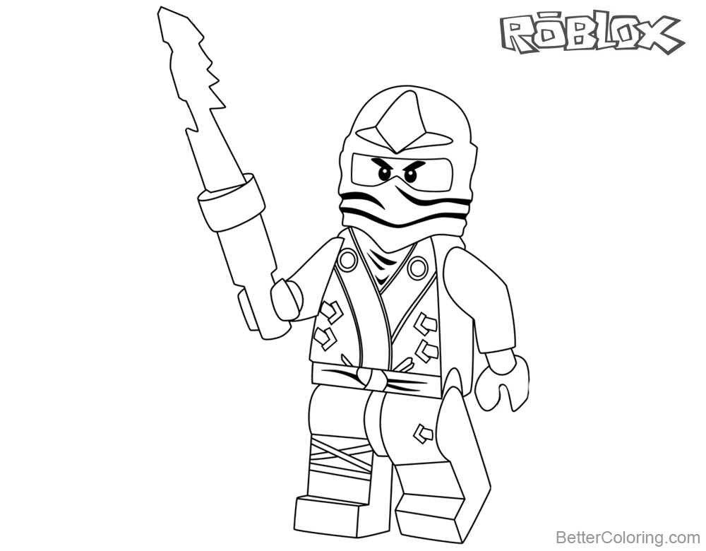 Lego Ninjago Ninja Coloring Pages