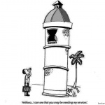 Lighthouse Coloring Pages Caricature