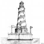Lighthouse Coloring Pages Great Realistic Drawing