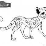 Lion Guard Coloring Pages Fuli