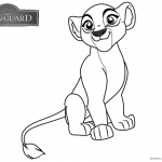 Lion Guard Coloring Pages Kiara