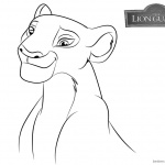 Lion Guard Coloring Pages Nala