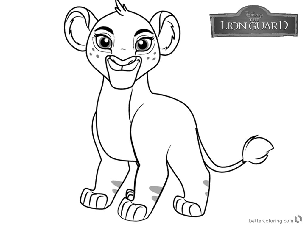 Lion Guard coloring pages Tiifu free and printable
