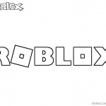 Logo of Roblox Coloring Pages
