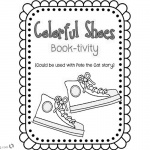 Pete the Cat Coloring Pages Colorful Shoes