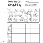 Pete the Cat Coloring Pages Count and Color