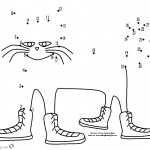 Pete the Cat Coloring Pages Dot to Dot