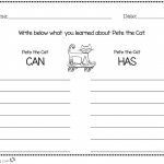 Pete the Cat Coloring Pages Worksheet What you Learned