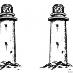 Realistic Lighthouse Coloring Pages Clipart