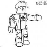 Roblox Coloring Pages Characters Guy Tim