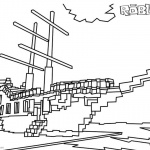 Roblox Coloring Pages Ship
