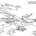 Roblox Dragon Coloring Pages