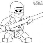 Roblox Lego Ninjago Coloring Pages