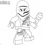 Roblox Lego Ninjago Coloring Pages Zane