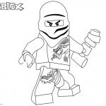 Roblox Lego Ninjago Coloring Pages Zane