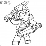 Roblox Lego Ninjago Kai Coloring Pages