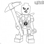 Roblox Lego Ninjago Skulkin Coloring Pages