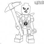 Roblox Lego Ninjago Skulkin Coloring Pages