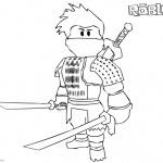 Roblox Ninja Coloring Pages