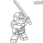 Roblox Noob Coloring Pages Simple Noob Picture