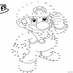 Super Mario Odyssey Coloring Pages Dot to Dot