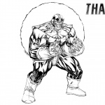 Thanos Coloring Pages by SpiderGuile