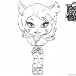 Toralei Stripe from Monster High Coloring Pages