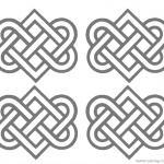 Wedding Celtic Knot Coloring Pages