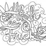 Weed Coloring Pages Free Printable Coloring Pages