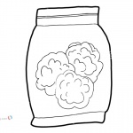 Weed Coloring Pages Bag Of Medical Marijuana Clip Art