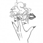 Weed Coloring Pages Love and Marijuana Somking