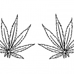 Weed Coloring Pages Tattoo Leaves
