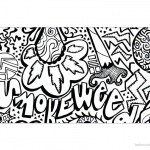Weed Coloring Pages Tattoos