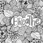 Weed Tattoo Coloring Pages Cannabis Picture