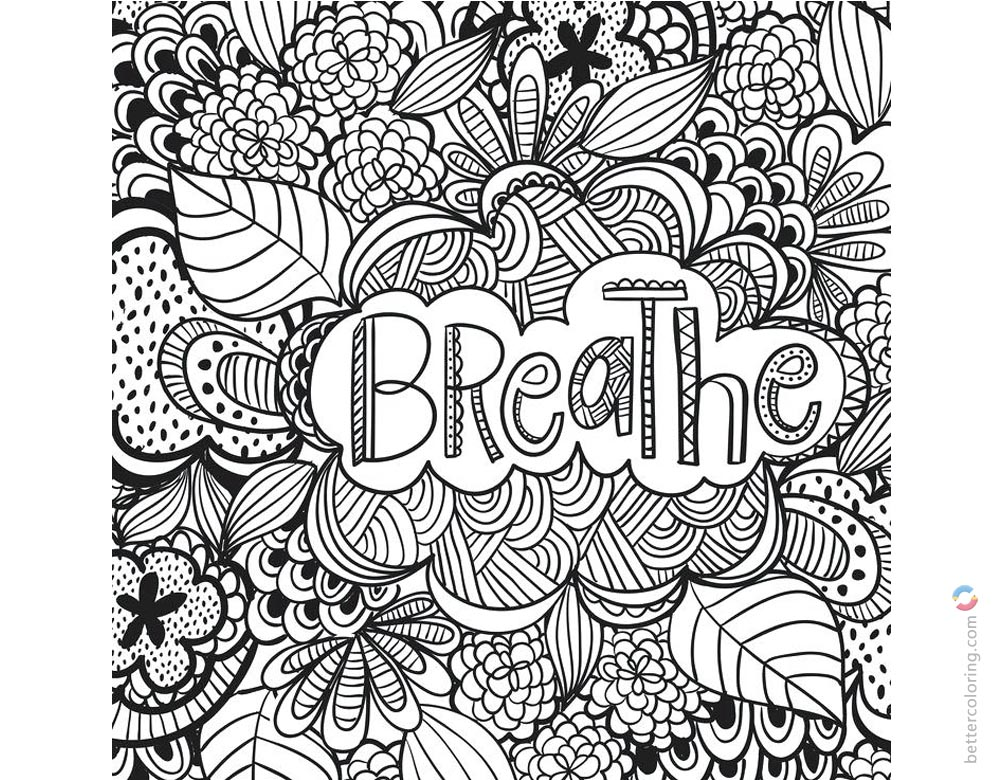 Weed Tattoo Coloring Pages Cannabis Picture Free