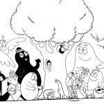 Barbapapa Coloring Pages Family Characters