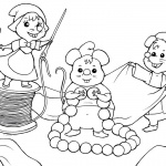 Baylee Jae Coloring Pages Cartoon Mouses