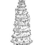 Baylee Jae Coloring Pages Christmas Tree