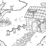 Baylee Jae Coloring Pages Small House