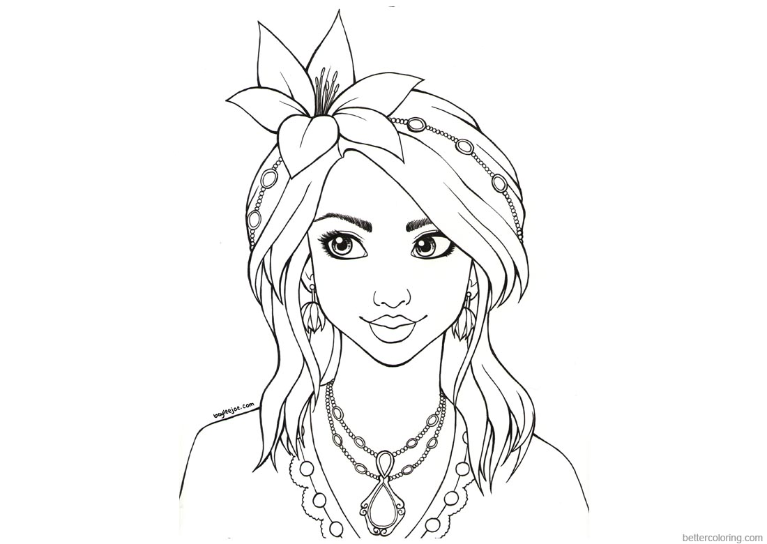 Baylee Jae Coloring Pages printable for free