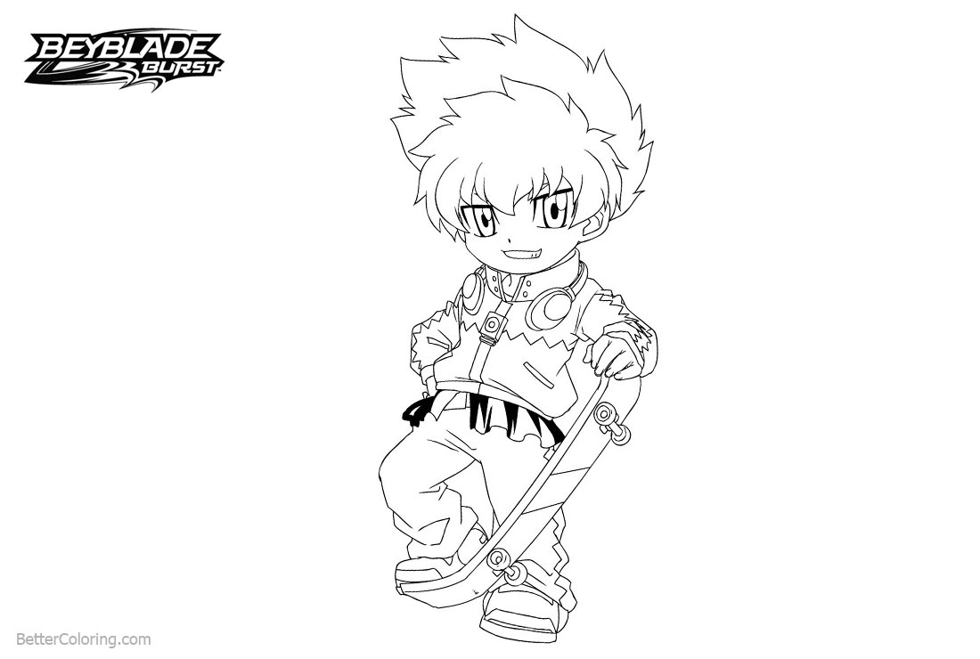 Free Beyblade Burst Coloring Pages Beyss printable