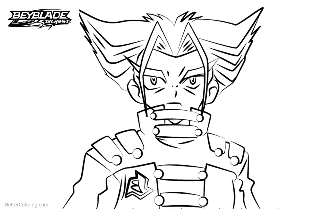 Free Beyblade Burst Coloring Pages Tala printable