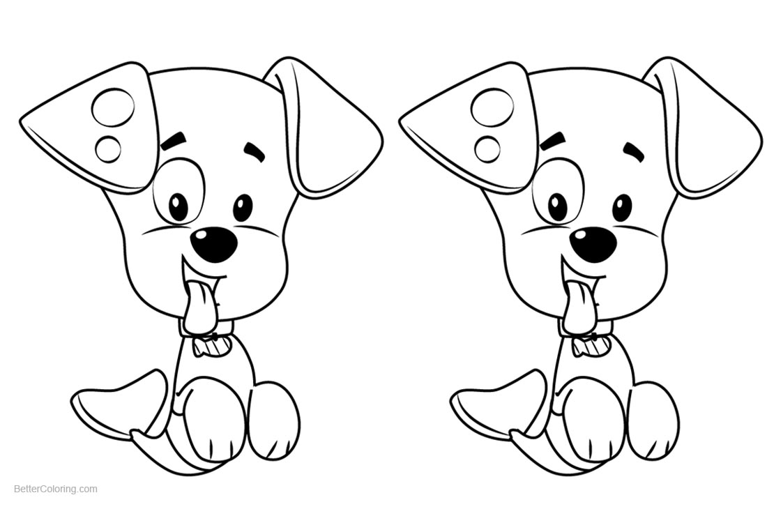 Bubble Guppies Coloring Pages Bubble Puppy printable for free