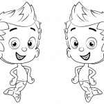 Bubble Guppies Coloring Pages Characters Gil