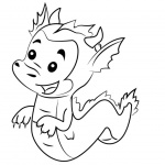 Bubble Guppies Coloring Pages The Dragon Puppy