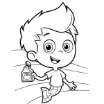 Bubble Guppies Gil Coloring Pages