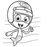 Bubble Guppies Coloring Pages Gil and Goby - Free Printable Coloring ...