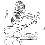 Bubble Guppies Oona Coloring Pages